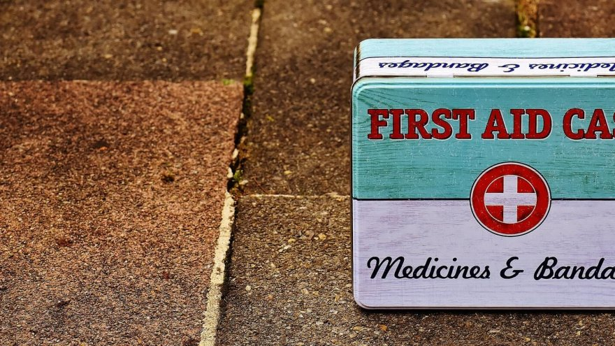 Thinking outside the first aid box: what to do when you are hurt on a run.