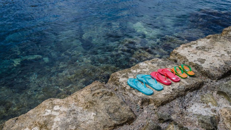Convenient and sometimes comfortable, flip-flops are ubiquitous during the summer months.