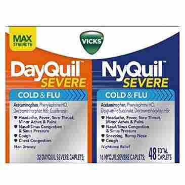 Vick's DayQuil and NyQuil Severe