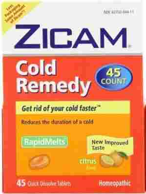 Zicam Cold Remedy Dissolving Tablets