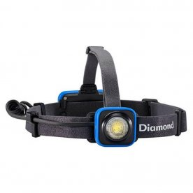 black diamond sprinter headlamp provides great visibility for runners at night