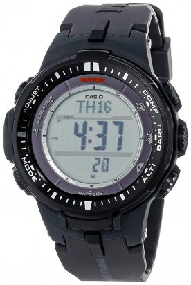 Casio Pro Trek 3000 Is The Watch That Has All The Bells And Whistles That You Need For Your Next Adventure