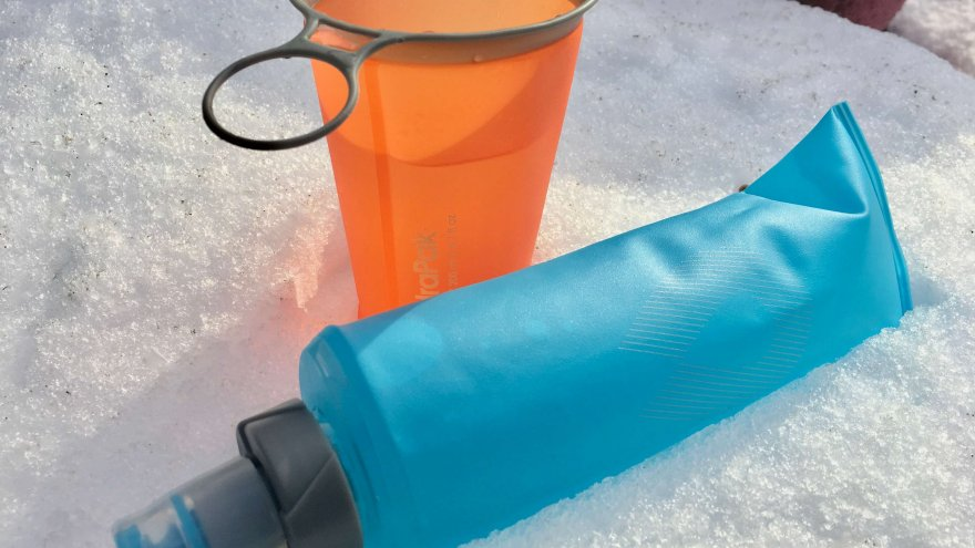 A Review of the HydraPak SoftFlask and SpeedCup