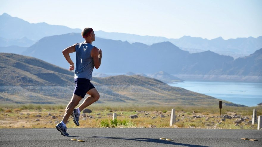 The importance of good running posture.