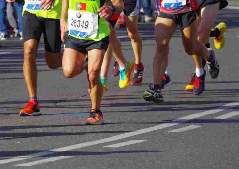 Training for a race might actually make you GAIN weight!