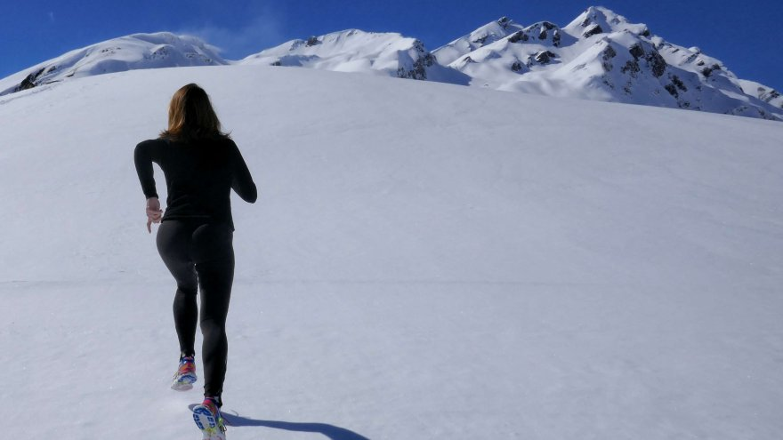 Signing up for a spring race means winter training. This helps prevent the winter blues.