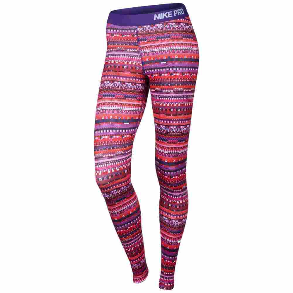 6. Nike Women's Pro Warm 8 Bit Tights