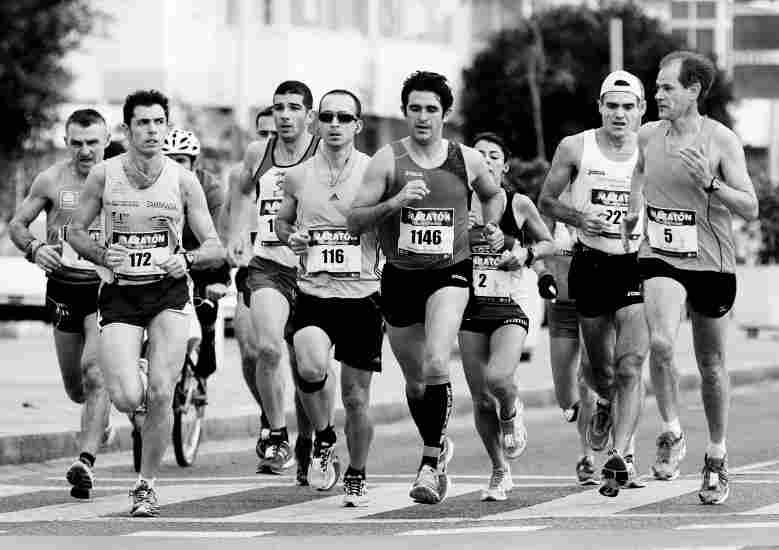 These are the most common thoughts we are all thinking during a race.