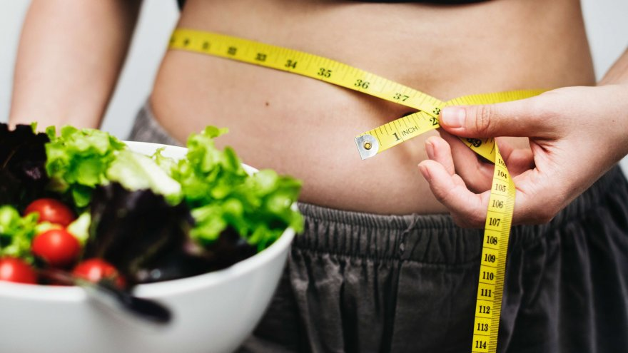Runners often gain weight because of eating too much