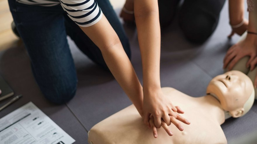 Knowing how to properly do CPR can save someone's life at a race, at the gym or when out for a run.