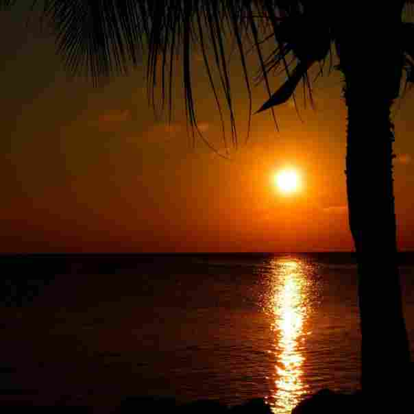 sea-dawn-sunset-holiday-caribbean