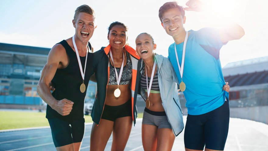 Make money by running by winning races or starting a blog.
