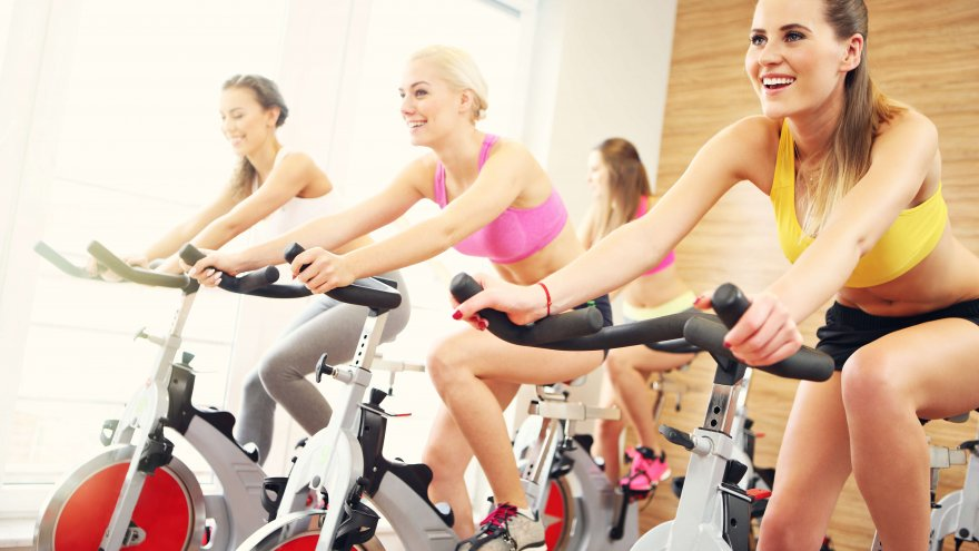 Runners can take a spin class as often as twice or more per week.