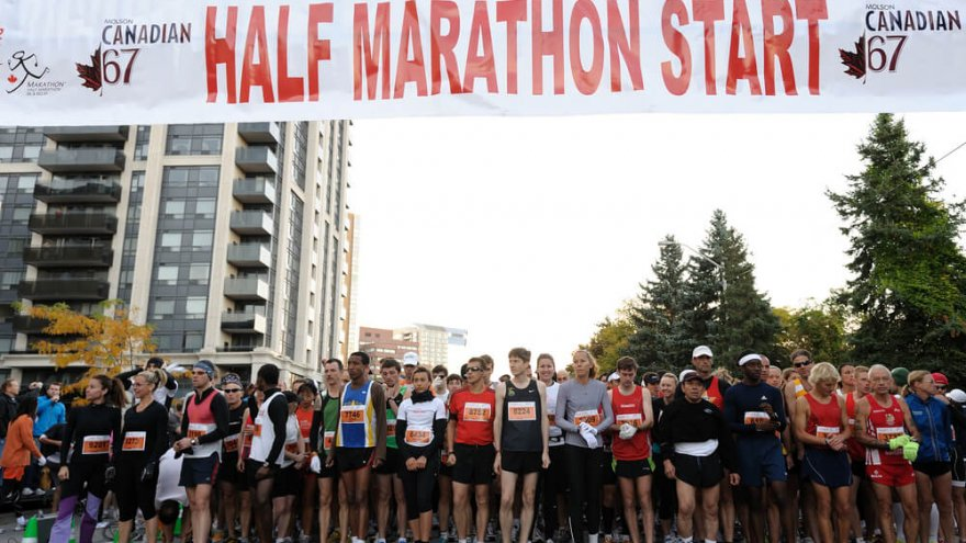 Runners learn about dedication and inner strength during their first half marathon.