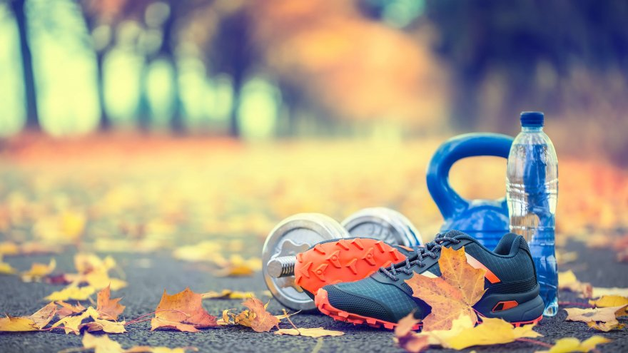 There are many ways to incorporate exercise into being outdoors this fall.