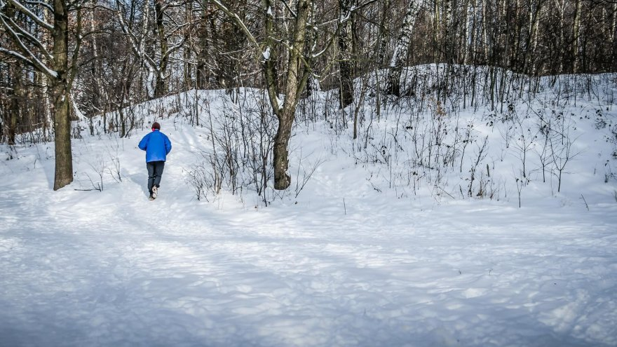 tips for running in snow and ice