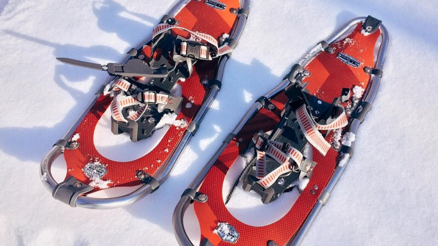cross-training for runners: snowshoeing