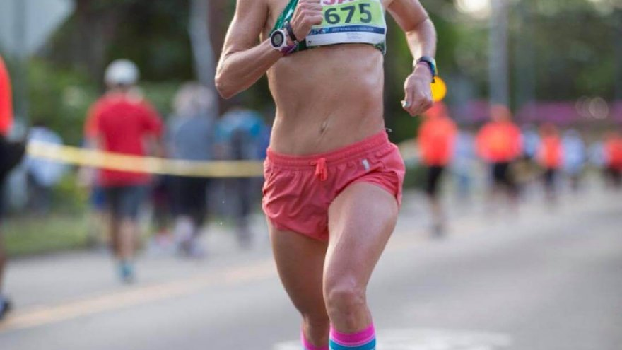 female runner bree brown triathlete