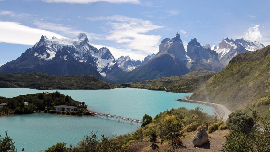 Ultra Fiord in Torres del Pain Park, Patagonia