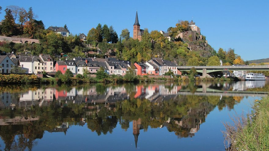 germany, run tour, saarburg, altfels, trail running